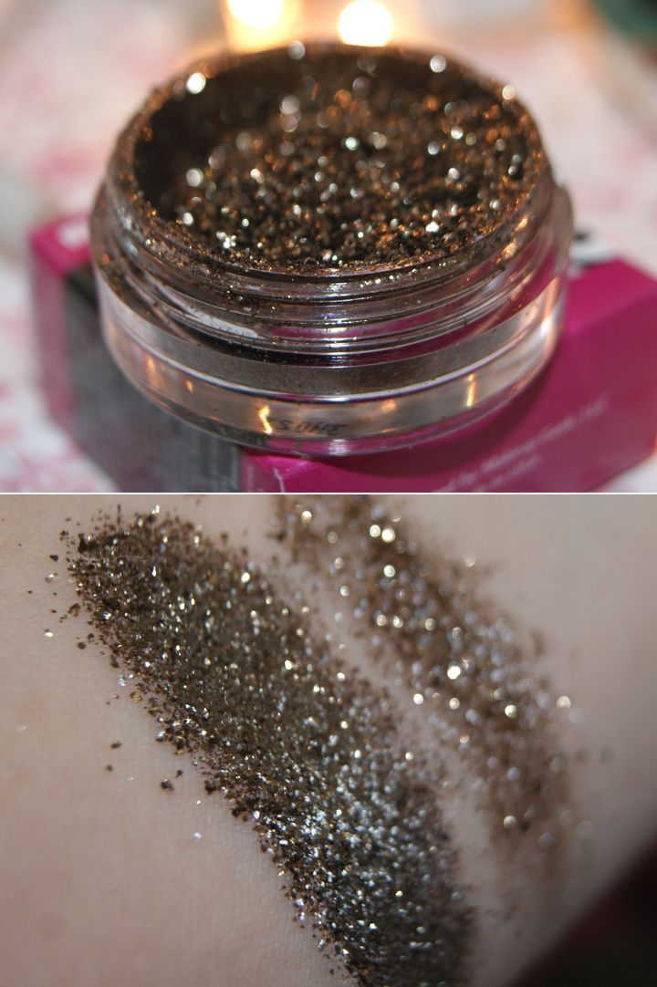 Review, swatches, and a look with the Makeup Geek Utopia pigment by Claudia Guillen!