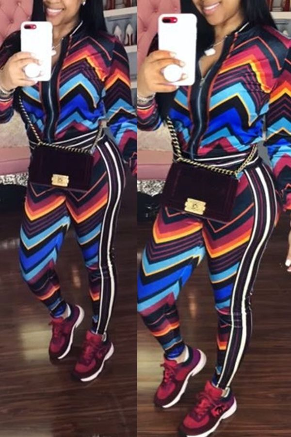 03af677dfac Lovely Euramerican Long Sleeves Printed Multicolor Two-piece Pants Set_Two  Pieces_LovelyWholesale | Wholesale Shoes,Wholesale Clothing, Cheap  Clothes,Cheap ...