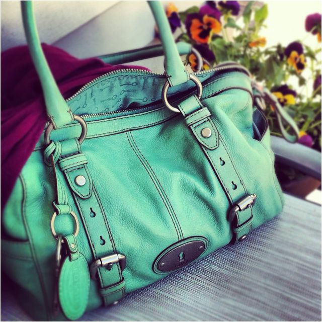 My new fossil bag, thanks Mom