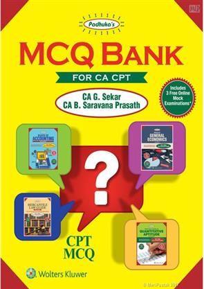 Padhuka' s MCQ Bank for CA CPT #Padhuka #PadhukasMCQBank #MCQBank #CAGSekar #CABSaravana rasath #BuyBooksOnline #buyCACPTBooksOnline #CA #CPT #CABooks #CPTBooks #MCQ
