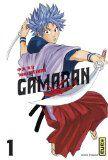 SHONEN Gamaran, tome 1/Yosuko Nakamaru  À l'ère Edo, le fief Unabara est connu pour être l'antre des combattants les plus belliqueux, il est surnommé le « Nid aux Démons ». Une impitoyable compétition est organisée. Chacun des 31 fils du seigneur du pays, devra présenter lors de la compétition un maître d'art martiaux. C'est ainsi que Naoyoshi, le 28e fils du seigneur, fait la rencontre de Gama. Notre héros n'a que 14 ans mais il est déjà le digne représentant de l'école Ôgame.