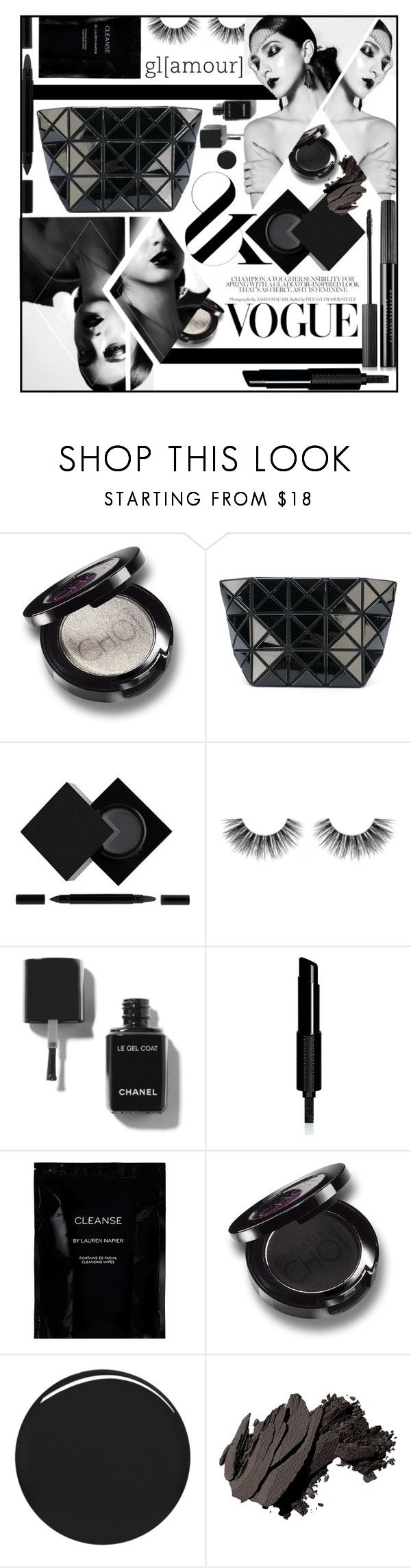 """""""Untitled #684"""" by scarletj17 ❤ liked on Polyvore featuring beauty, Christina Choi Cosmetics, Bao Bao by Issey Miyake, Serge Lutens, Velour Lashes, Givenchy, Cleanse by Lauren Napier, Burberry, Bobbi Brown Cosmetics and Estée Lauder"""
