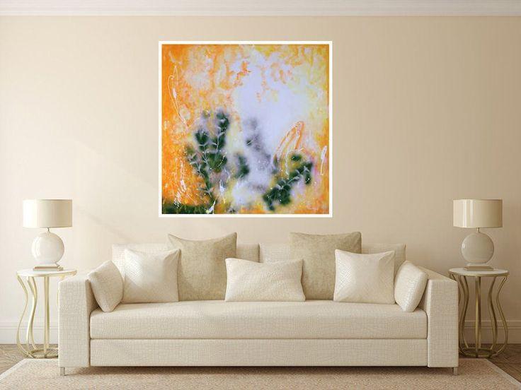 CREATIVE ENERGY Large Wall Art Original Abstract Art on Canvas