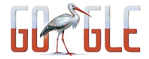 Niby fajnie, ale dlaczego bocian?  Polish independent day.. It's nice, but why not eagle?