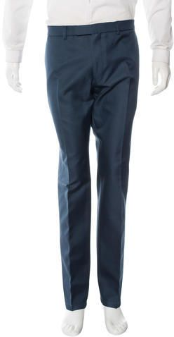Valentino Wool Tapered Trousers