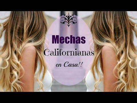ᴴᴰ Cómo hacer las Mechas Californianas RAUL ROA ESTILISTA - YouTube