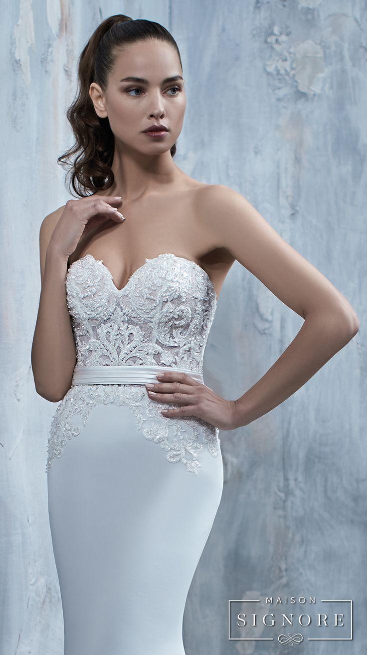 Tullia from Maison Signore's Seductions bridal line.
