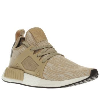 Adidas Beige Nmd X_r1 Primeknit Womens Trainers Give your urban aesthetic a  contemporary update as the