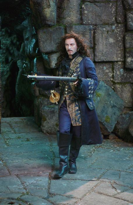Jason Isaacs as Hook in Peter Pan (2003)
