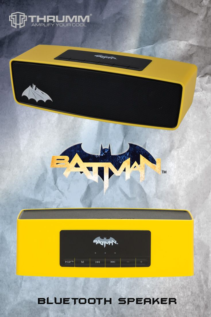 Batman Licensed Bluetooth Speaker By Thrumm Batman