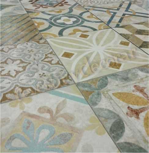 Ceramica simil mosaico calcareo 35x35 1 calidad cer mica - Piso sandra ...