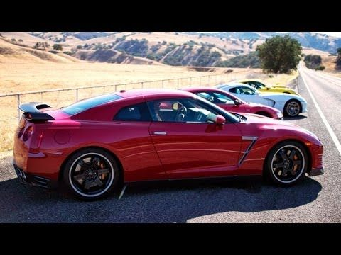 Behind the Scenes of Motor Trend's 2013 Best Driver's Car Competition! T...