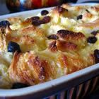 I've got stale bread and lots of eggs. Solution?...Bread Pudding!