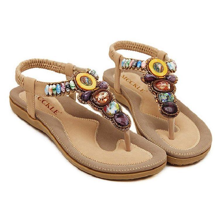 Toe Thong Comfortable Flat Sandals
