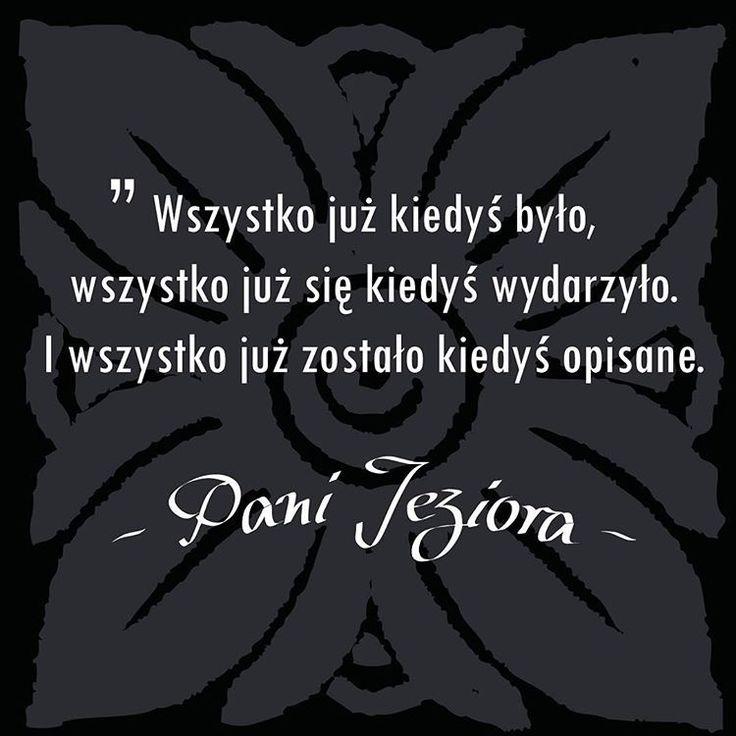 #andrzejsapkowski #wiedźmin #panijeziora #cytat