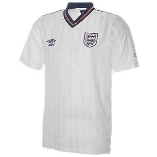 England 1986 World Cup Retro Football Shirt