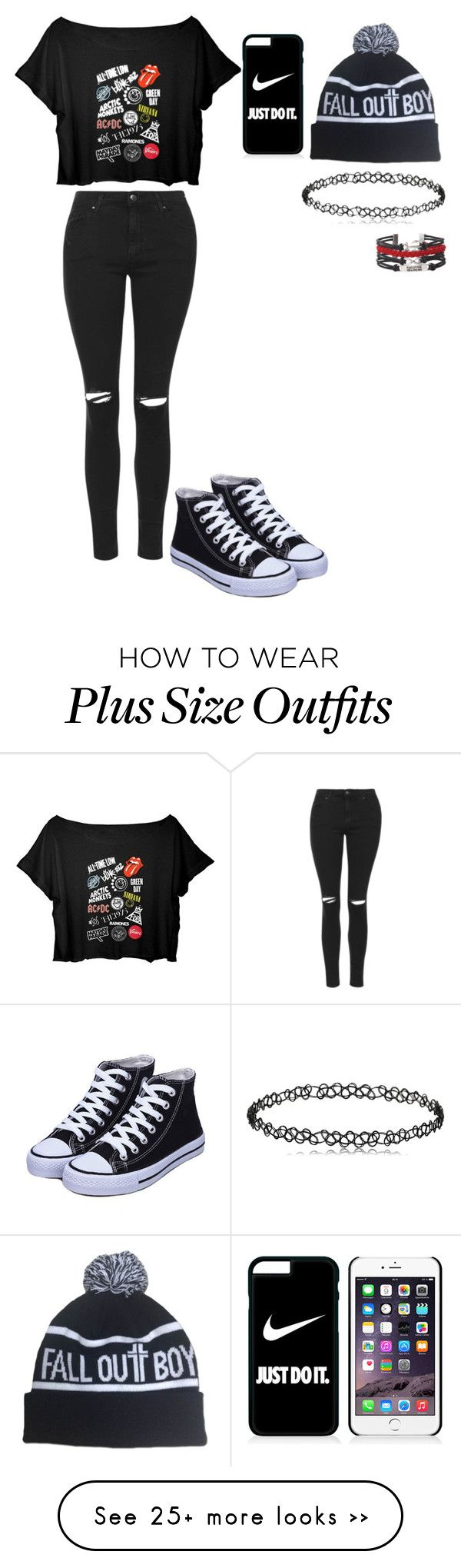 """Untitled #416"" by meowliv on Polyvore featuring Topshop and NIKE"
