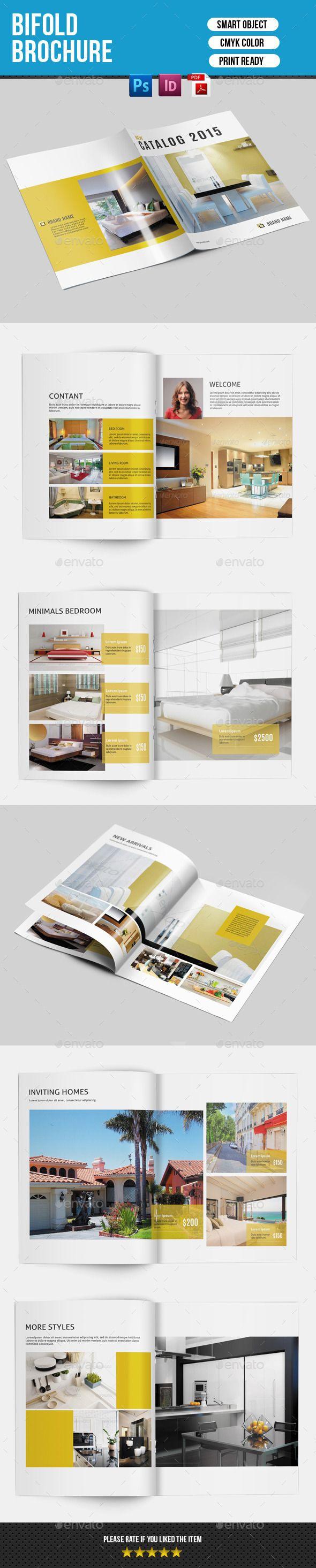 Bifold Brochure For Interior Design V141