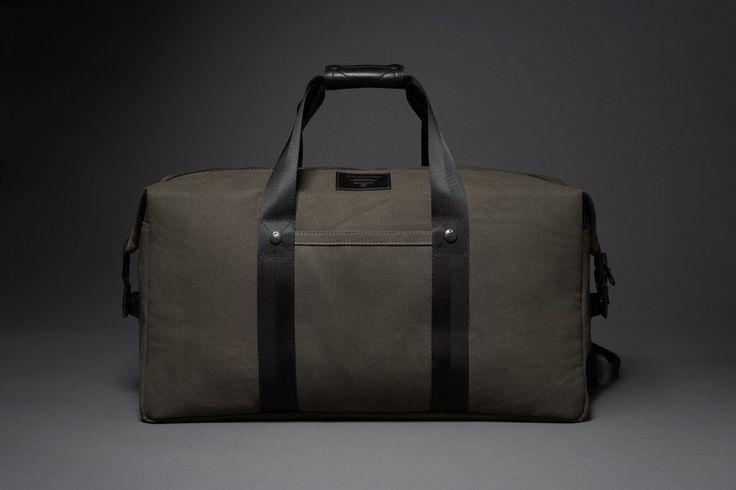 duffel bag made from uniform
