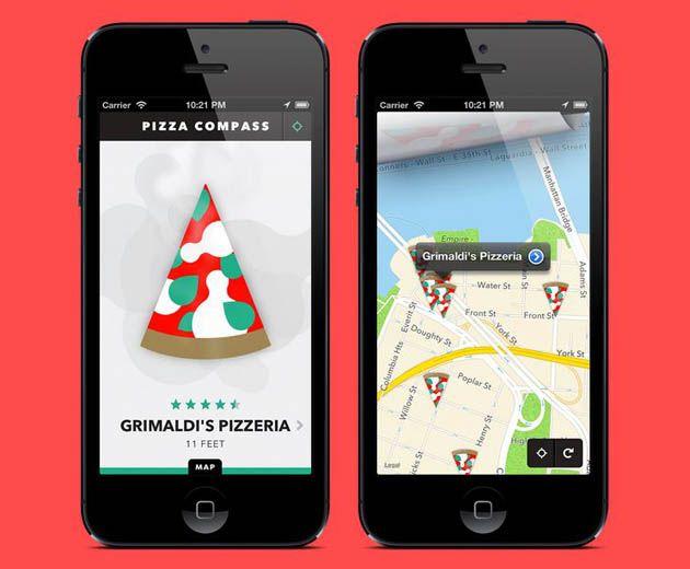 Pizza Compass App