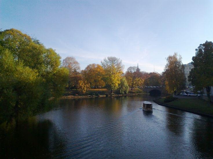 Pilsetas kanals - Riga, Latvia