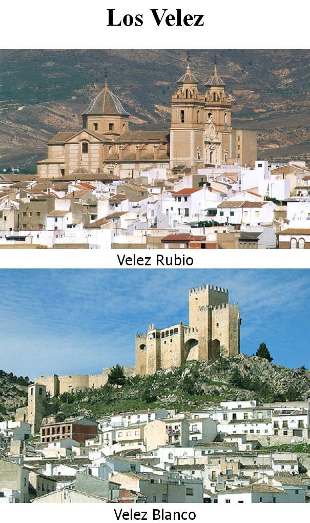 October 2005 - took a bit of a detour to visit the twin towns of Velez Blanco and Velez Rubio on the way home from holiday in Torrevieja