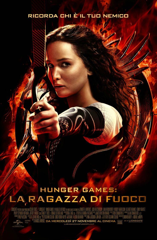 Hunger Games - La ragazza di fuoco, dal 27 novembre al cinema.