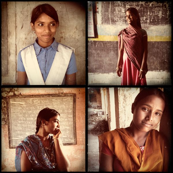 Beautiful images and stories of Rajasthani girls who said no to child marriage and yes to education