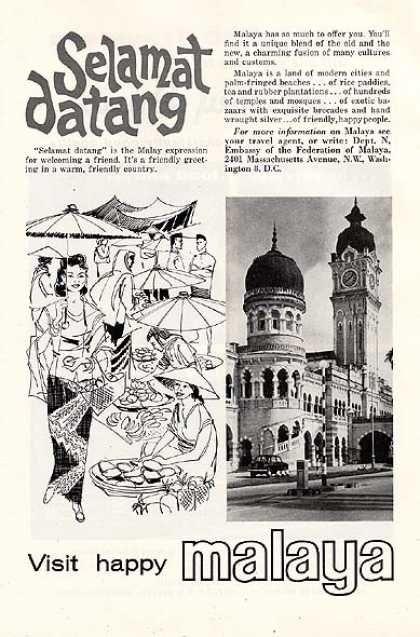 Malaya's Southeast Asia (1963)