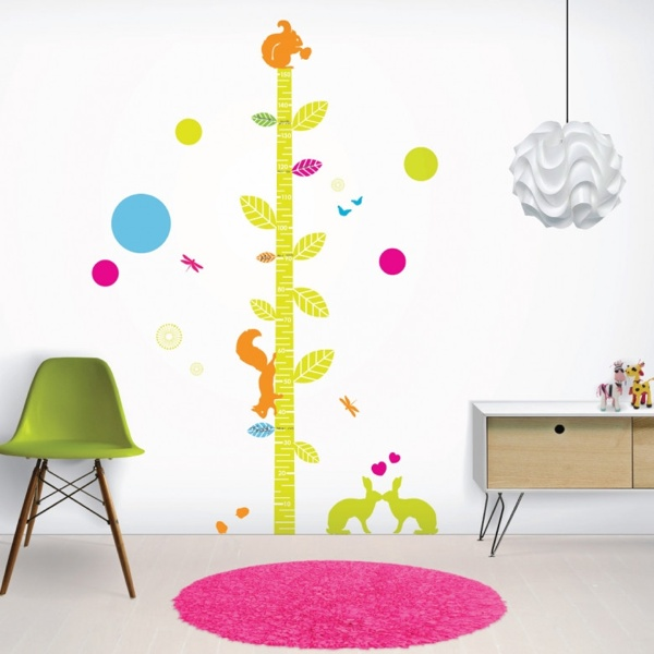 I found this on www.se10gallery.com.auNurseries Wall, Charts Wall, Woodland Friends, Kids Room, Growth Charts, Friends Heights, Wallpapers Murals, Heights Charts, Wall Stickers