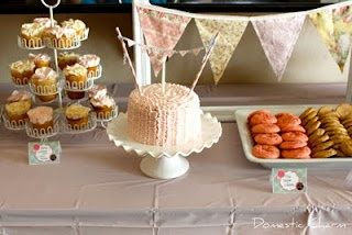 Banderitas: Chic 1St, 1St Birthday Parties, Shabby Chic, First Birthday, Domestic Charms, Parties Ideas, 1St Birthdays, Parties Inspiration, Birthday Cakes