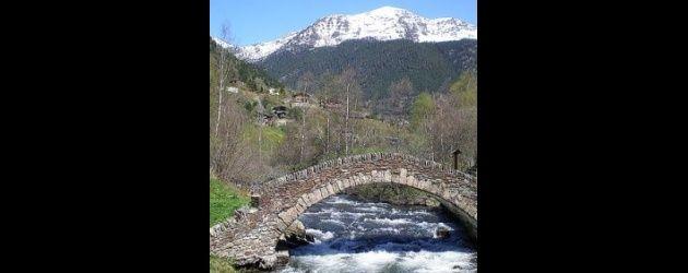 Mapa – Pesca à truta em Andorra