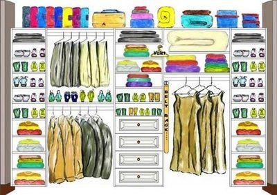 11 best deco novedades y tendencias images on pinterest for Closet sencillos