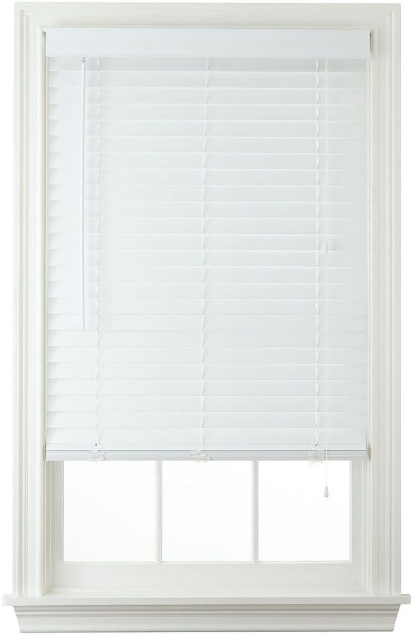 jcp home jcpenney hometm 2 fauxwood horizontal blinds