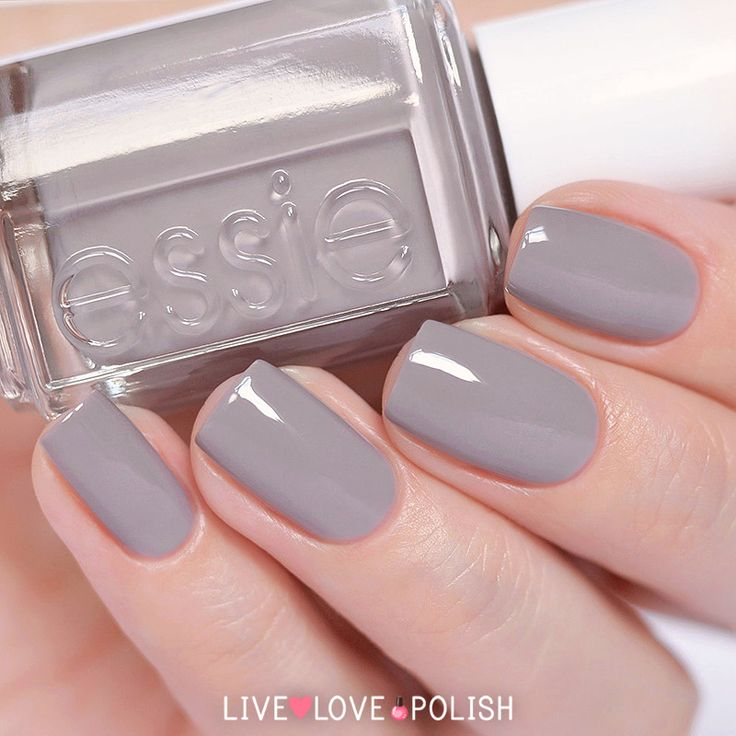 Essie Chinchilly Gel Nails Nail Polish Colors Best