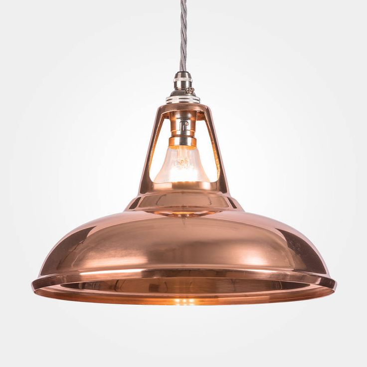 Copper Or Brass Coolicon Pendant Lamp