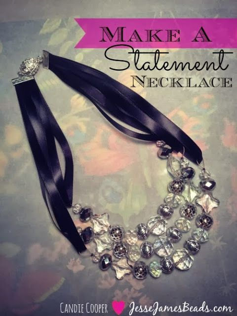 @Jesse James Beads shows How to Make a Beaded Statement Necklace