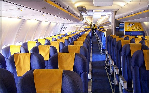 2 boeing 757 600 375 airline cabins pinterest for Interieur boeing 757