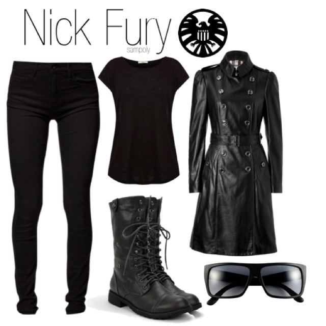 The Avengers outfit - Nick Fury