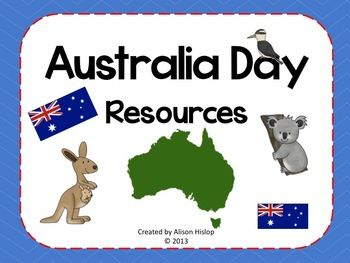 Celebrate Australia Day - great pack to help you celebrate at school! $