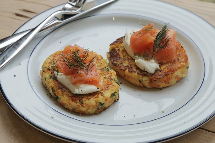 Christmas Morning Rosti with Smoked Salmon | Lucy Bee Coconut Oil