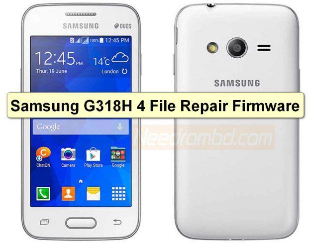 Samsung Galaxy V Plus G318HZ 4 File Repair Firmware