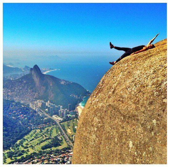 A temida e respeitada Pedra da Gávea abriga uma das trilhas mais difíceis que temos por aqui.