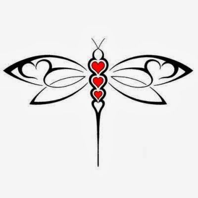 free dragonfly stencil - Google Search