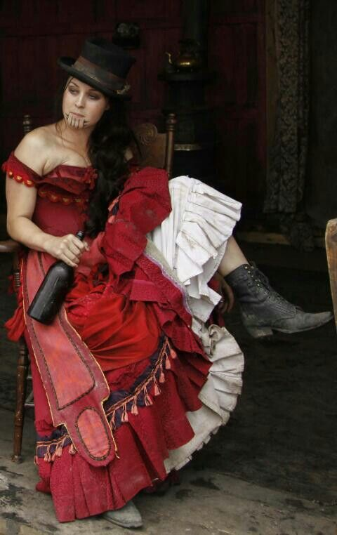 """Eva (Hell on Wheels) S1 as a """"Soiled Dove"""" in Hell On Wheels"""