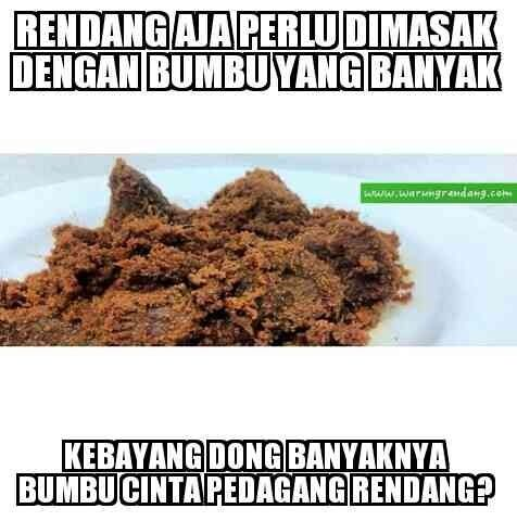 Traditional food from Sumatera Barat INDONESIA