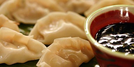 Easy to make and easy to share - Asian Dumplings. I've always wanted to learn how to make these.