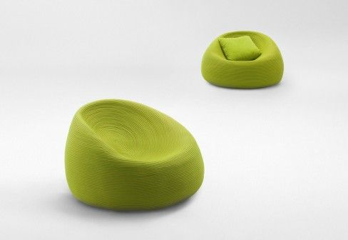 Paola Lenti Otto easy chair/ From far...Paola Lenti my favorite for the outdoor!!!