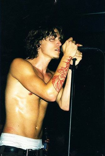 Brandon Boyd, lead singer of Incubus