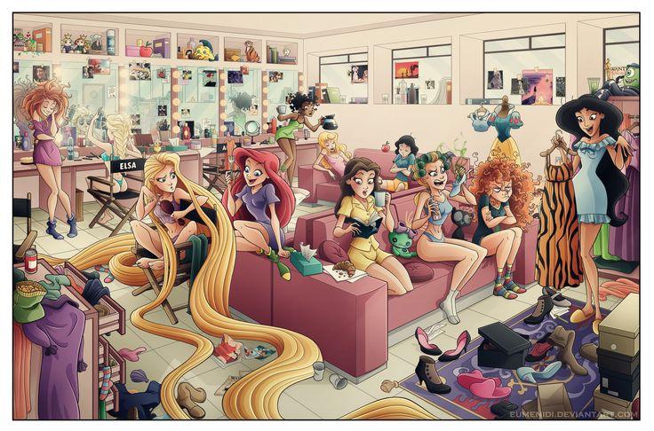 Pillamada de prinsesas